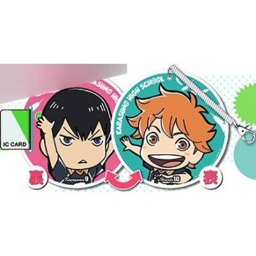Pass Case - Haikyu-!! - Hinata & Kageyama
