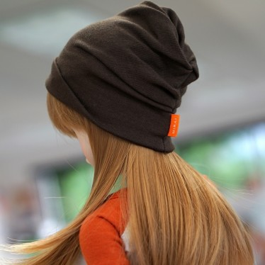 Culture Japan - Slouch Beanie Brown