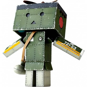 Revoltech Yotsuba&!: Danboard Mini Zero Fighter Model 52 Ver.