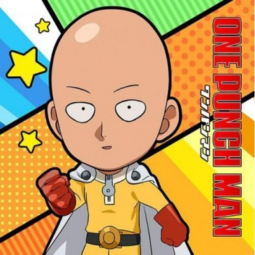One-Punch Man - Mofu Mofu Mini Towel Saitama