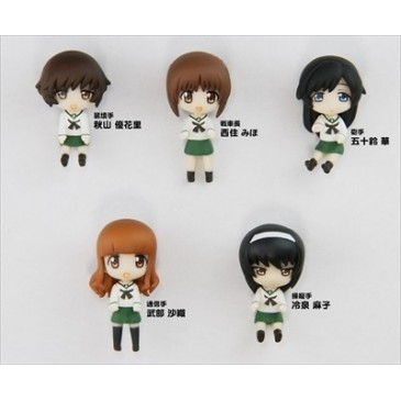 """GIRLS and PANZER"" Ankou Team Figure Set"
