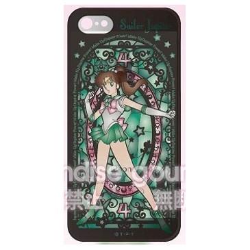 """Sailor Moon"" iPhone5/5S Silicon Jacket Sailor Jupiter SLM-16D"