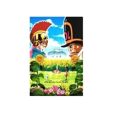 Banpresto - One Piece Dressrosa Poster