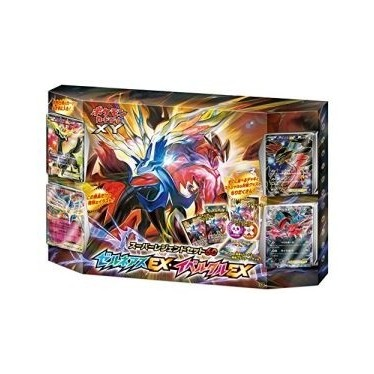 """Pokemon"" Card Game XY Super Legend Set 60 Xerneas EX & Yveltal EX"