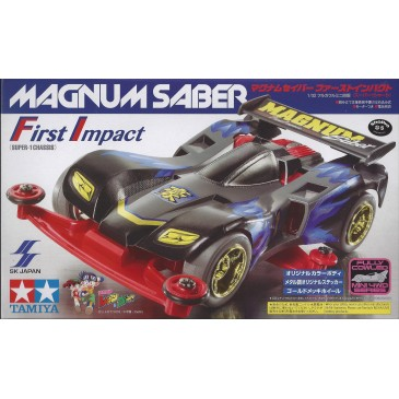 Mini4wd Magnum Sabre First Impact
